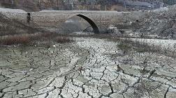 Torul Barajı'nda Su Seviyesi 40 Metre Çekildi