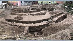 İnşaat Kazısında Tarihi Yapı Ortaya Çıktı