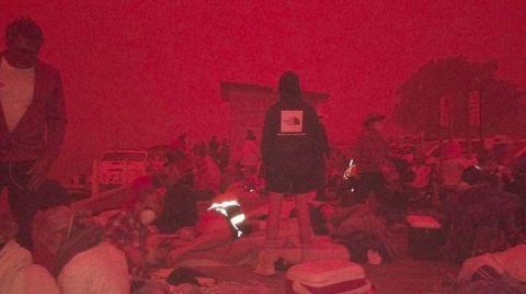 Avustralya'da 4 Bin İnsan Mahsur Kaldı