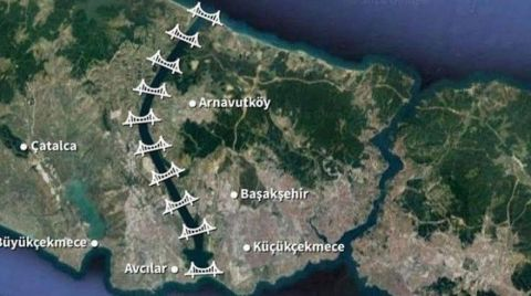 Kanal İstanbul'da Planlar Değişti
