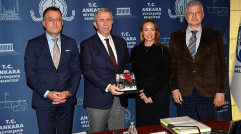 Ankara Büyükşehir Belediye Başkanı Mansur Yavaş'a Ziyaret