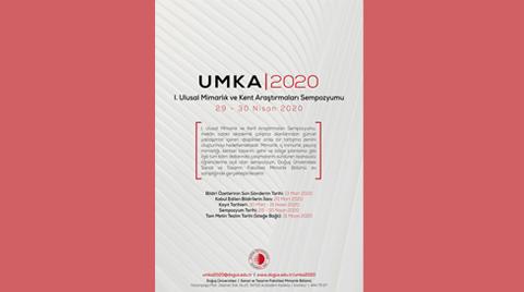 I. Ulusal Mimarlık ve Kent Araştırmaları Sempozyumu   UMKA2020