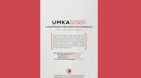 I. Ulusal Mimarlık ve Kent Araştırmaları Sempozyumu | UMKA2020