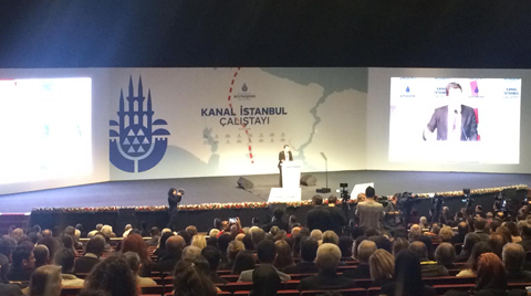 Kanal İstanbul Çalıştayı Başladı
