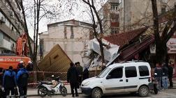 Sakarya'da Bina Çöktü
