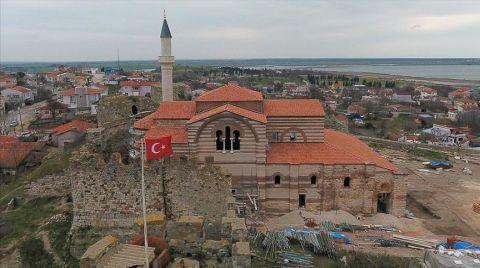 Enez Fatih Camisi'nin Bir Köşesi Müze Olacak