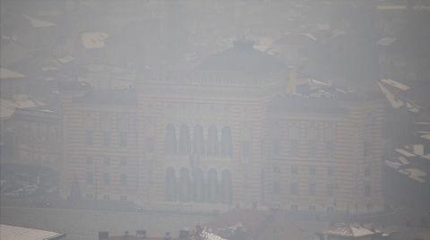 Saraybosna'da Hava Kirliliği Sağlığı Tehdit Edecek Boyutta