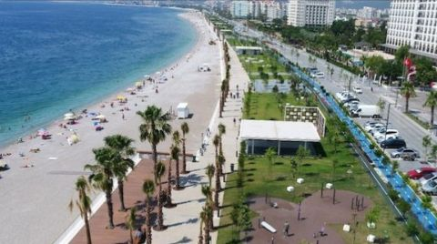 Konyaaltı Sahili İhalesi İptal Edildi
