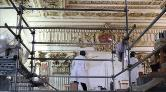 Dolmabahçe Sarayı'nın Duvarından Asırlık Gazete Çıktı