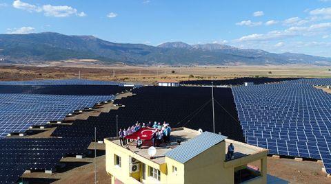 Gaziantep'te Güneşten 45 Milyon Kilovat Elektrik Üretiliyor