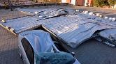 Kahramanmaraş'ta Fırtına Çatıları Uçurdu