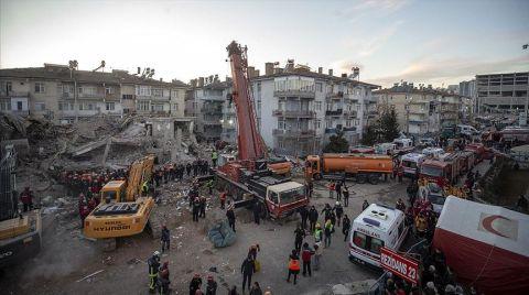Elazığ'da Arama ve Kurtarma Çalışmaları Aralıksız Sürüyor