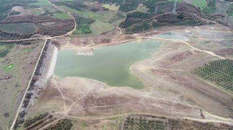 Mudanya'daki Kocayusuf Göleti Kurudu