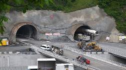 Zigana Tüneli'nde Çalışmalar Devam Ediyor
