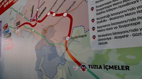 İstanbul'da Duran 3. Metro İnşaatı da Başladı