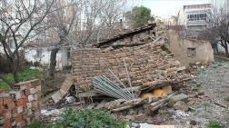 Manisa'da 4,8 Büyüklüğündeki Depremin Hasar Tespiti Yapıldı