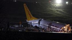 Sabiha Gökçen'de Uçak Kazası