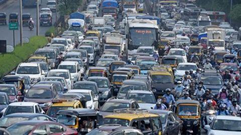 Hindistan'da Trafikte Ses Kirliliğine Karşı Yeni Sistem