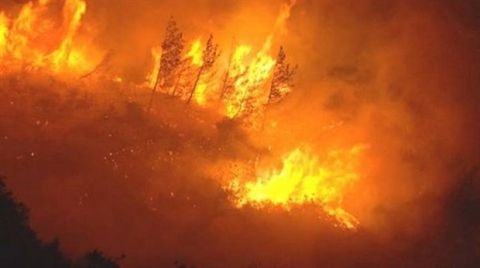 Orman Yangınlarıyla Roketli Mücadele