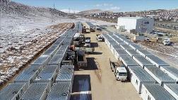 Konteyner Kentlerin Altyapı Çalışmaları Devam Ediyor