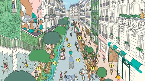 """Paris'in """"15 Dakikalık Şehir"""" Olma Hayali"""