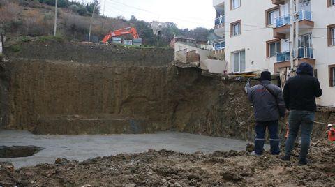 Manisa'da Temeli Kayan Binalar için Güçlendirme Çalışması