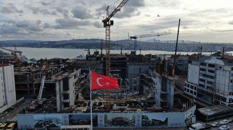 Yeni Atatürk Kültür Merkezi Yükselmeye Başladı