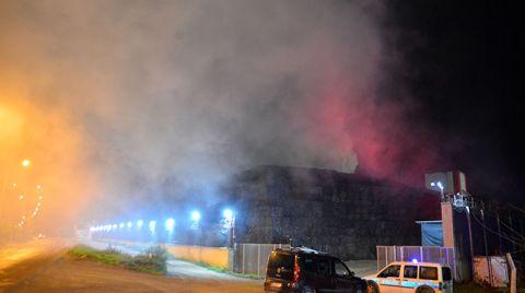 Adana'da Pamuk Fabrikasında Yangın