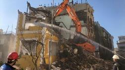 Tarih Üzerindeki Otelin Yıkımı Sürüyor