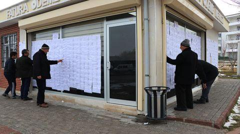 Elazığ'da Hasarlı Binaların Listeleri Muhtarlıklara Asıldı