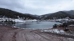 Çatlak Oluşan Bahadır Barajı'nda Su Tahliyesi Sürüyor