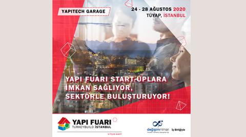 Yapı Fuarı - Turkeybuild İstanbul 2020: Yapı Tech Garage