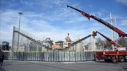Taksim Meydanı'ndaki Kavuşma Durağı Kaldırılıyor