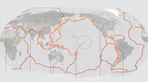"""Depremlerin Ağırlık Merkezi """"Pasifik Ateş Çemberi"""""""