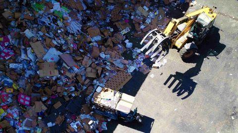 Türkiye'de Geçen Yıl 1,7 Milyon Ton Atık Dönüştürüldü