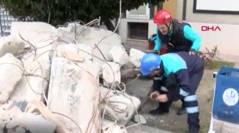 Bağcılar'da 7 Büyüklüğünde Deprem Tatbikatı