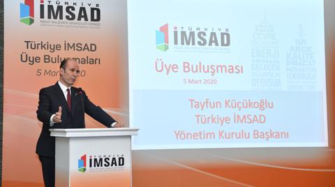İMSAD'ın Yeni Başkanı Tayfun Küçükoğlu Oldu
