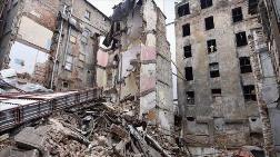 Beyoğlu'nda Yıkılma Tehlikesi Bulunan 377 Yapı Mühürlendi