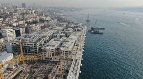 Galataport'a İlk Gemi Nisanda Yanaşacak