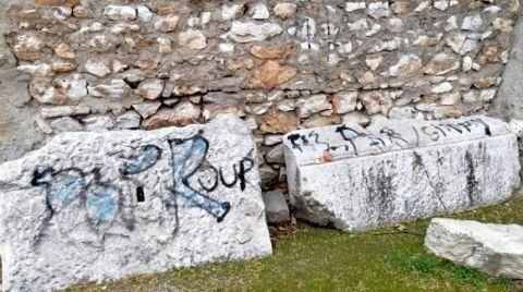 Thyateira Antik Kenti'ne Büyük Saygısızlık