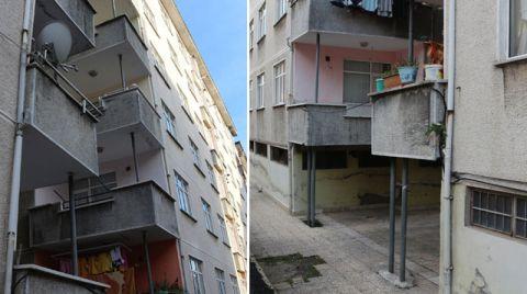 """""""O Binalar Acilen Boşaltılmalı"""""""