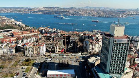 AKM'de Son Durum Havadan Görüntülendi