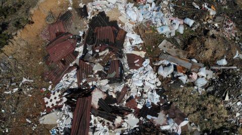 Şile'de Ormana İnşaat Atıkları Bırakılıyor