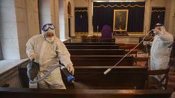 Yeşilköy'deki Ermeni Kilisesi Dezenfekte Edildi