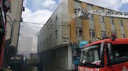 Bağcılar'da Tekstil Atölyesinde Yangın