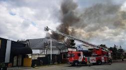 Maltepe'de Restoran'da Yangın