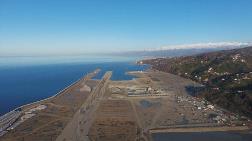 Rize-Artvin Havalimanı'nın Yüzde 62'si Tamamlandı