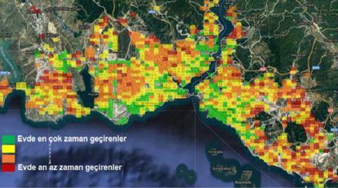 İstanbul'da Hangi Semtler Evde Kaldı?