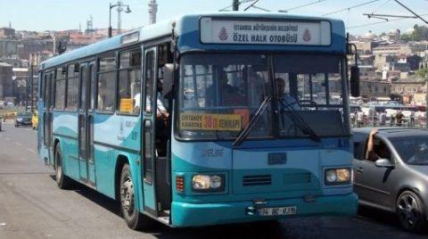 Özel Halk Otobüslerinin Giderlerini İBB Karşılayacak