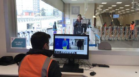 Marmaray İstasyonlarında Termal Kamera Dönemi